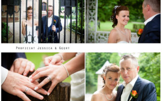collage for wedding day