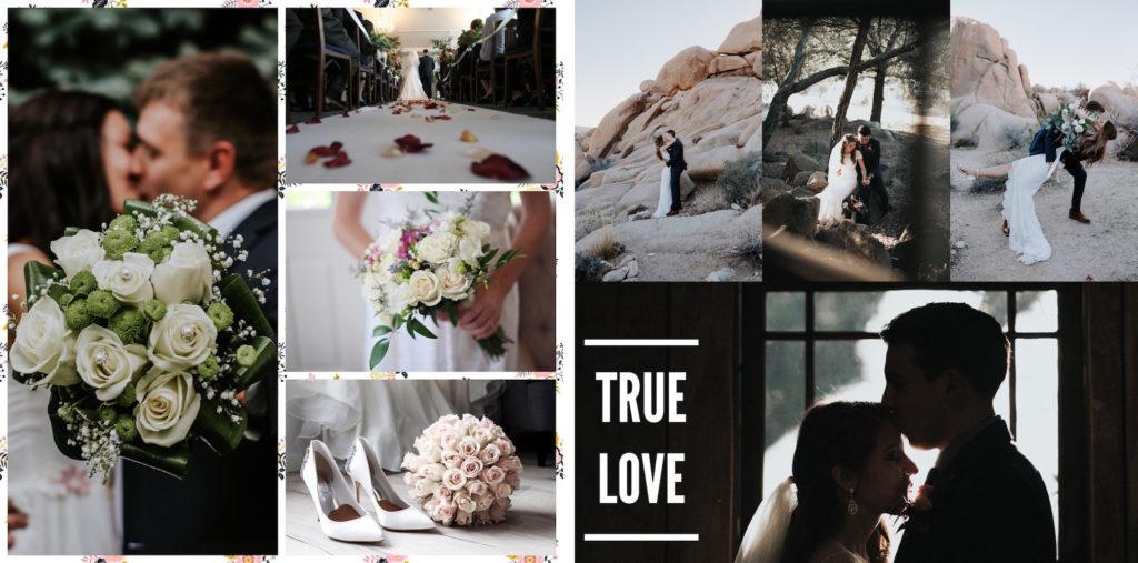 wedding collage instasize