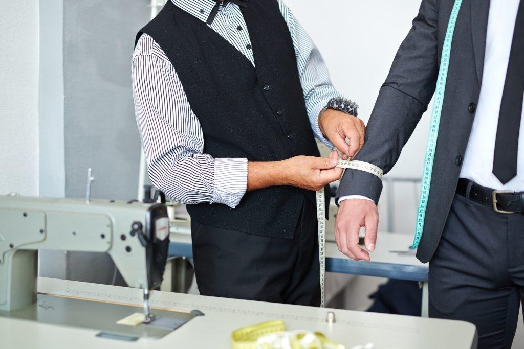 stylish man always have tailor