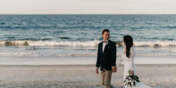 Victoria and Clinton's Coastal Luxe Wedding