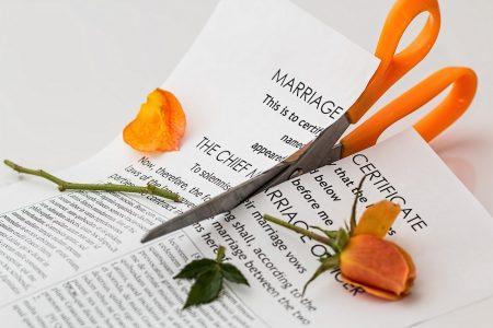 Factors behind a divorce