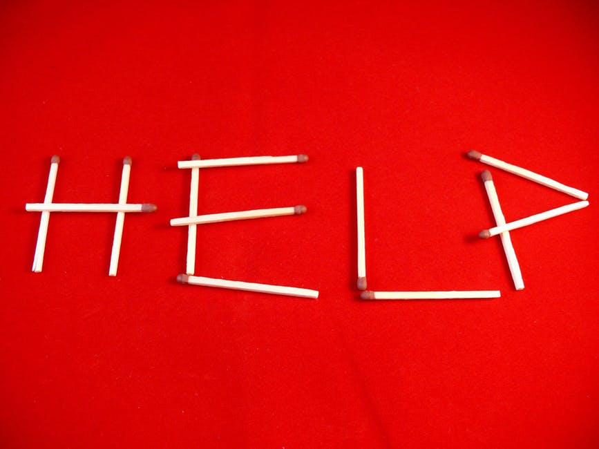 help from other people