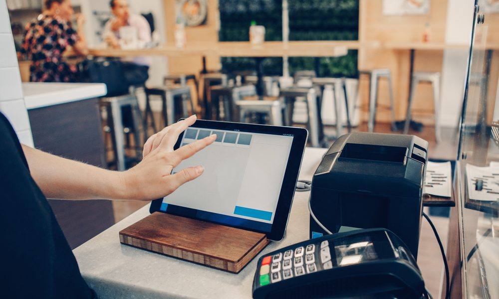 iPad for billing