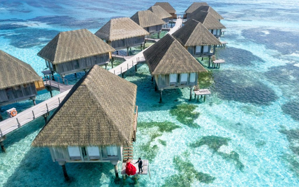 honeymoon at maldives