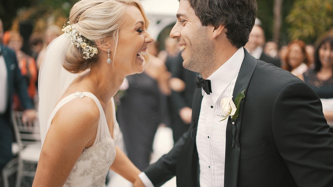 Perfect Wedding Smile