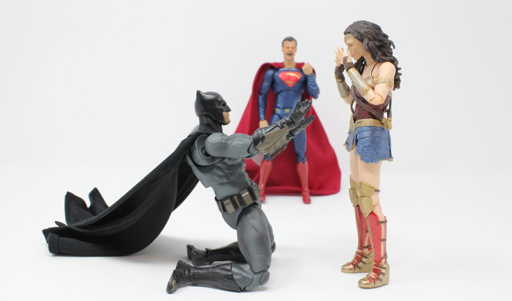 Batman Marries Wonder Woman