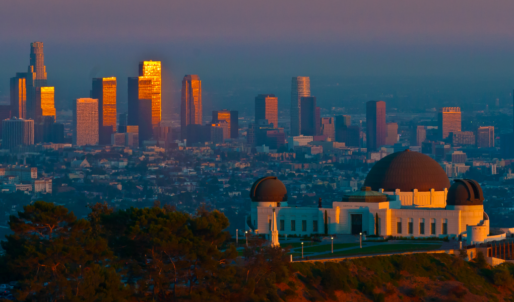 View of LA - Griffith Observatory