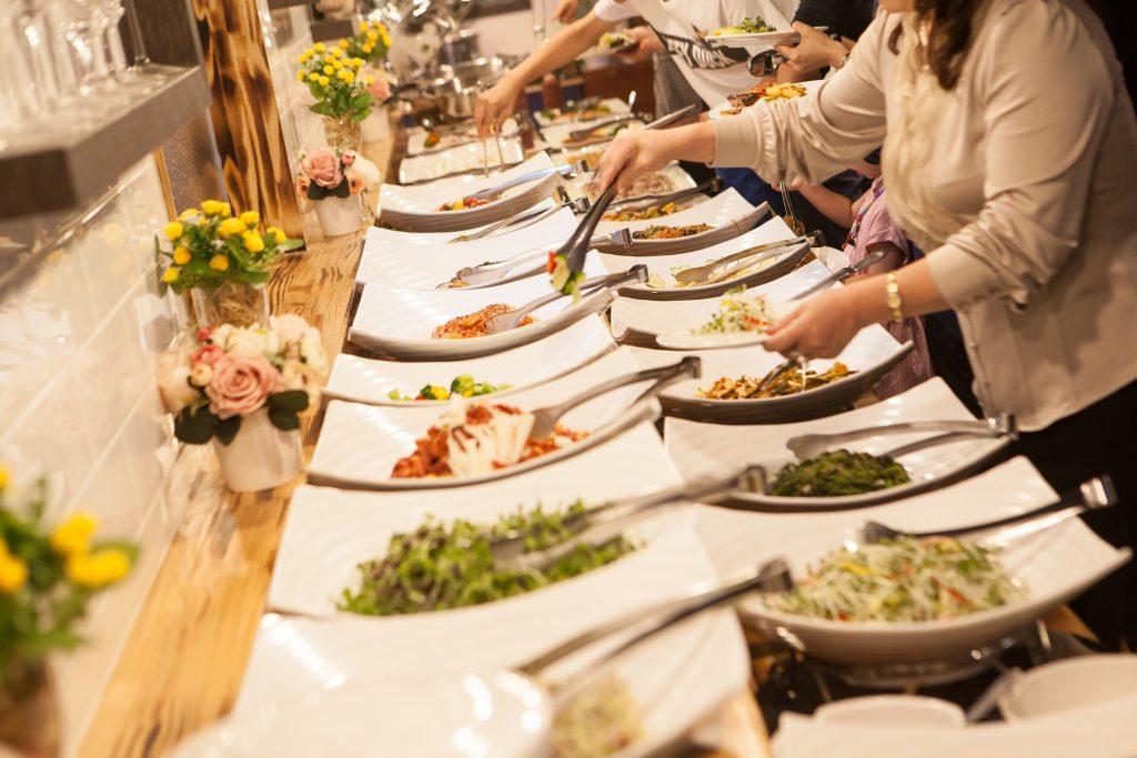 Wedding buffet