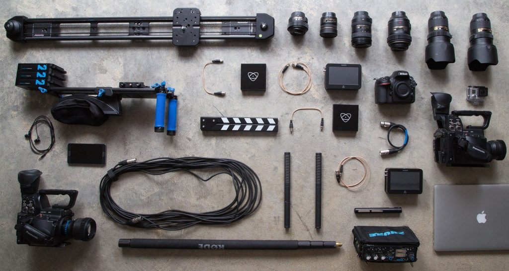 Photography services gear
