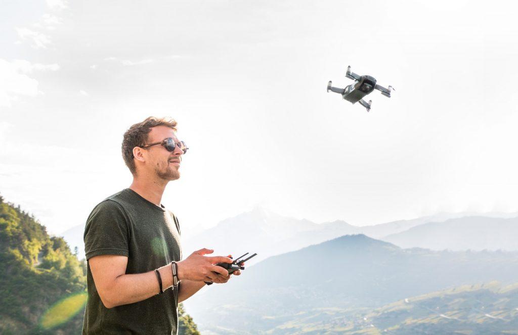 Drones use Lithium-Sulfur batteries
