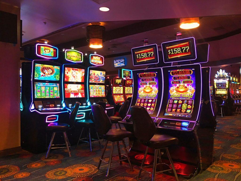 Various slot machines
